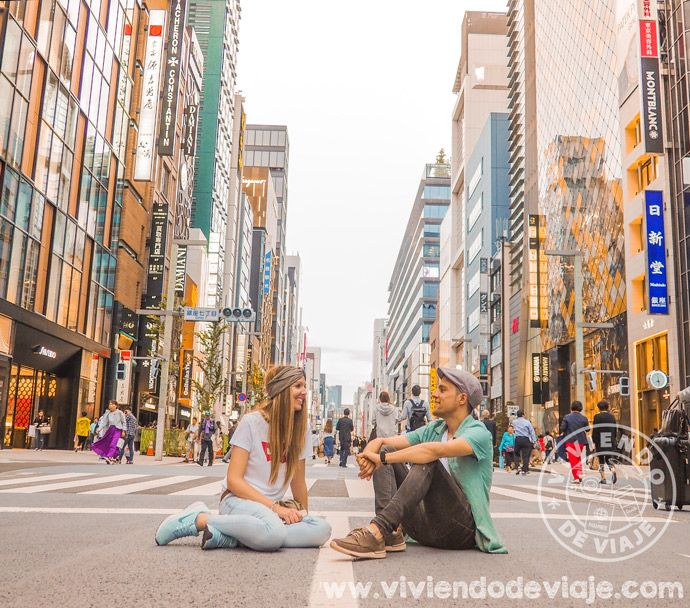 Ruta por Japón, Tokio