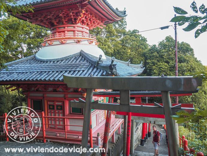 Dormir en un templo budista en Japón