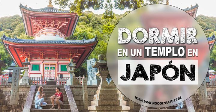 Dormir en un templo en Japón