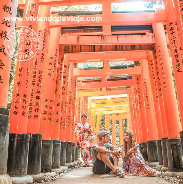 Japan Rail Pass, templo Fushimi Inari