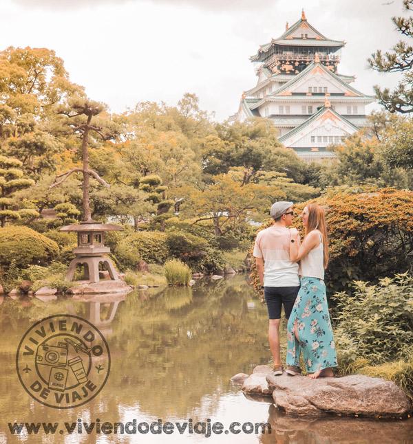 Japón por libre, Castillo de Osaka