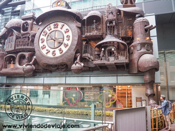 Reloj Ghibli, que ver en Tokio