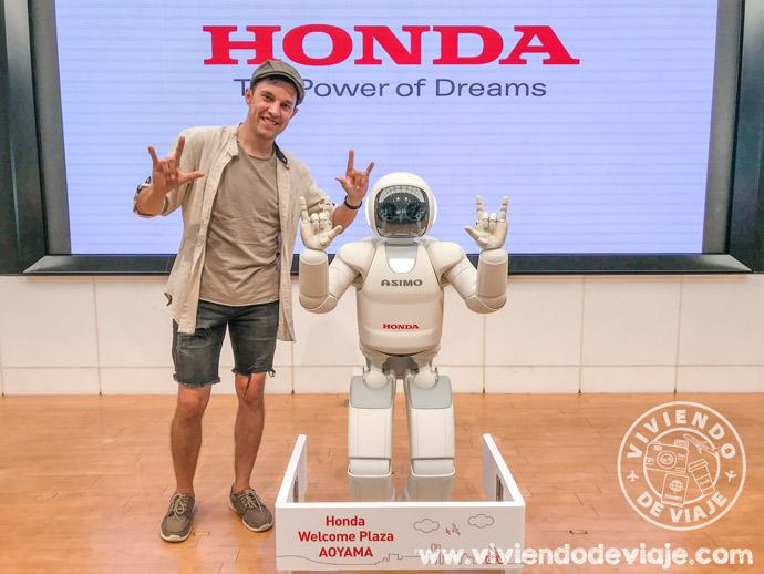 Visitar en Tokio el Honda Welcome Plaza