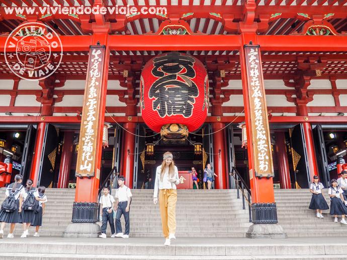 Templo Senso-ji, imprescindible en tu visita a Tokio