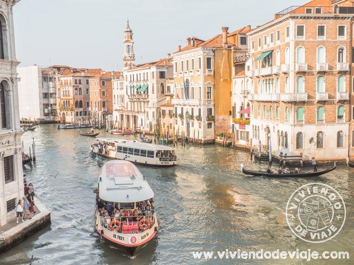Cómo ir del aeropuerto Marco Polo a Venecia, vaporetto