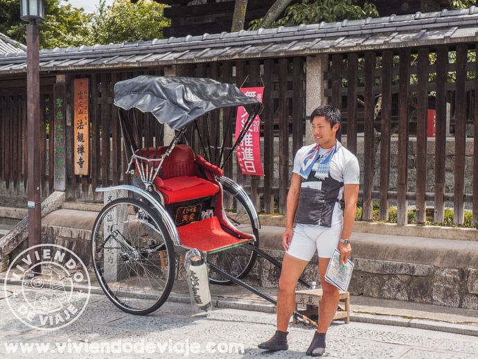 Recorrer Kioto enrickshaw