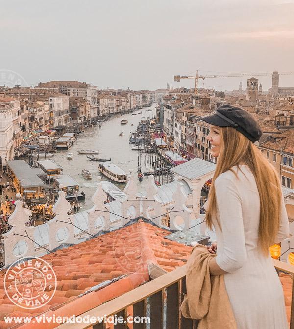 Cosas que hacer en Venecia, ver atardecer desde la azotea del Fondaco dei Tedeschi