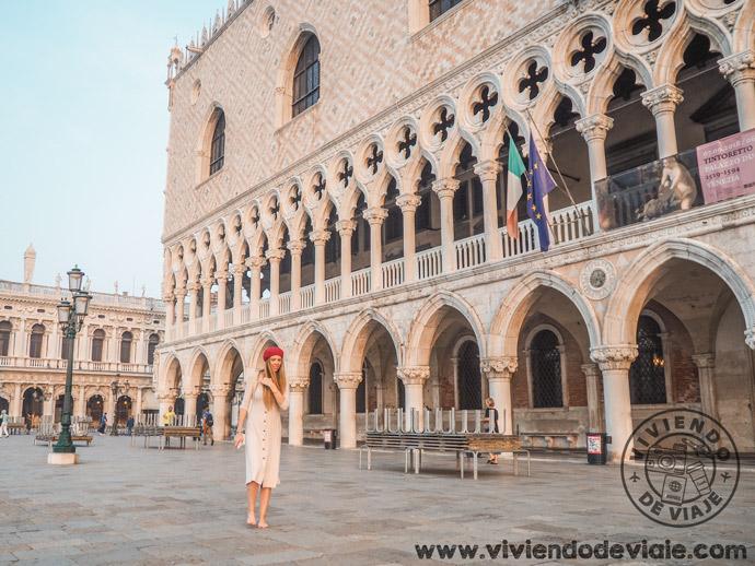 Palacio Ducal, una de las cosas que ver en Venecia