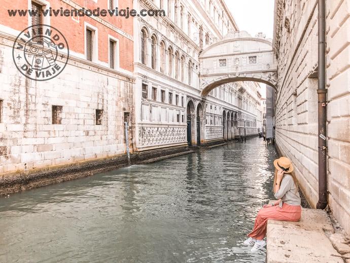 Puente de los Suspiros, que hacer en Venecia