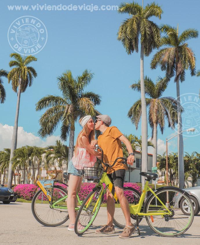 Cosas que ver y hacer en Miami, alquilar unas bicis y recorrer Miami Beach