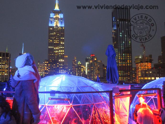 230 Fifth Rooftop Bar, Nueva York en Navidad
