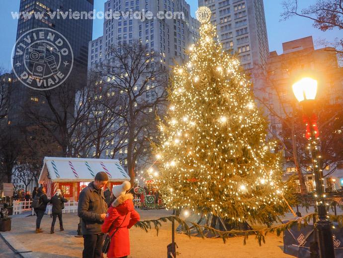 Árbol de Navidad en el Madison Square Park