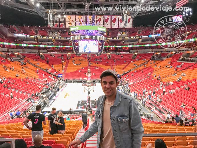 Ver un partido de la NBA de los Miami Heat