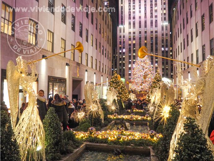 Nueva York en Navidad - Rockefeller