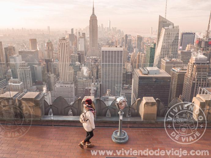 Mejor consejo para viajar a Nueva York, madruga para visitar los lugares turísticos
