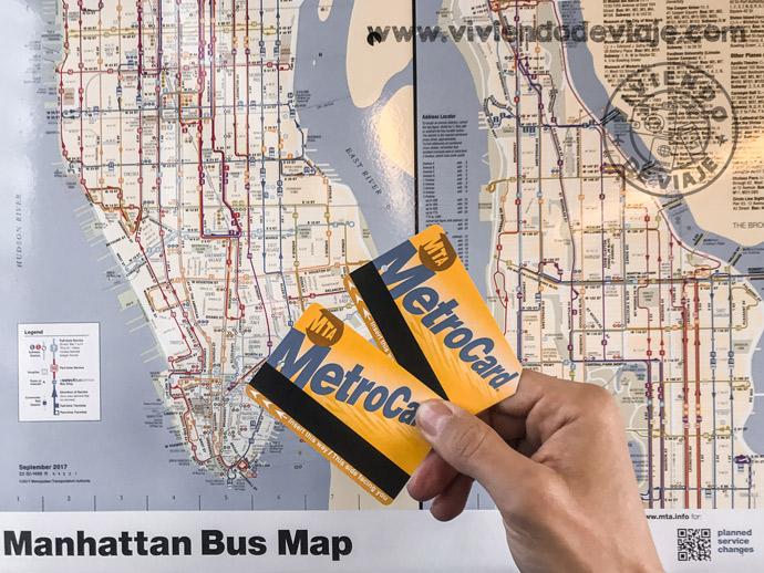 Consejos MetroCard Nueva York