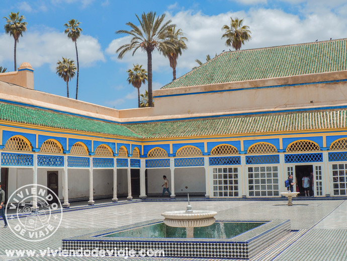 Visitar elPalacio de la Bahía, Marrakech