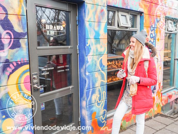 Que ver en Reikiavik, la panadería Braud