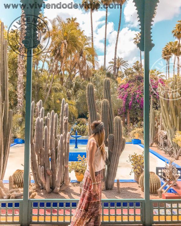 Jardines de Majorelle, Marrakech