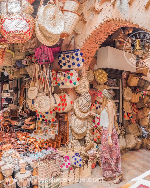 Visitar los imprescindibles de Marrakech, los zocos