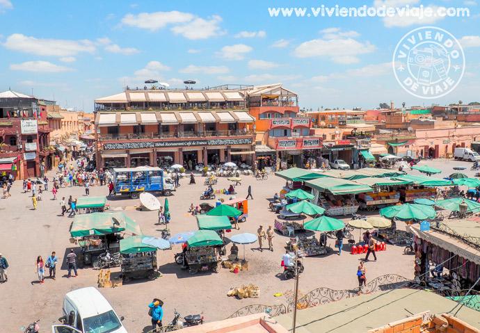 Imprescindibles de Marrakech, Plaza Jemaa el Fna
