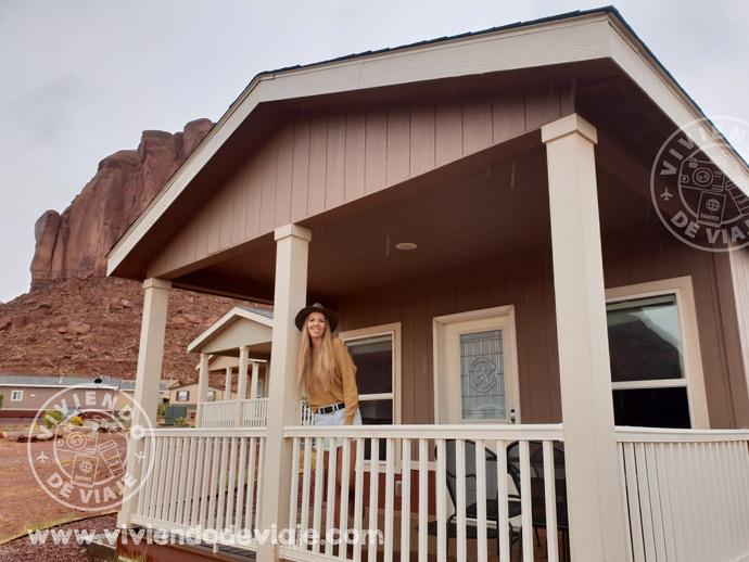 alojamiento en Monument Valley, el Goulding Lodge