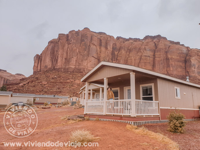 Alojamiento en Monument Valley