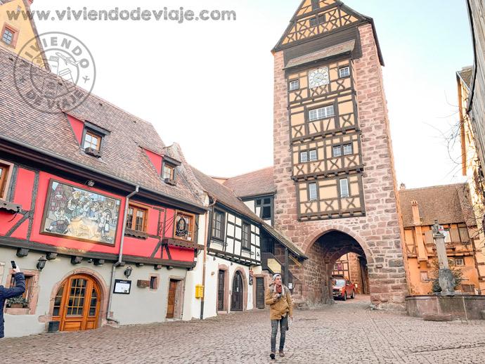 Viaje a Alsacia, Riquewihr