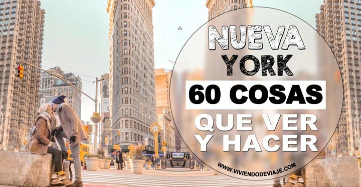 Que ver y hacer en Nueva York, 60 cosas