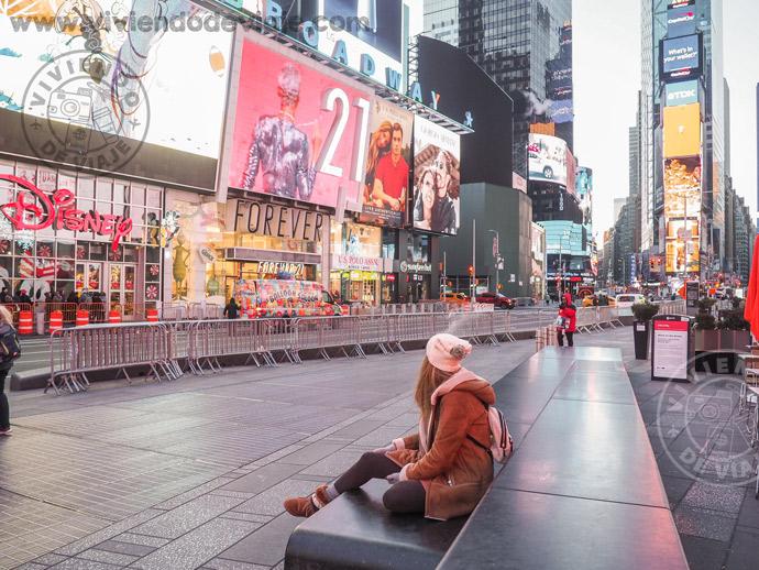 Nueva York en 7 días, Times Square