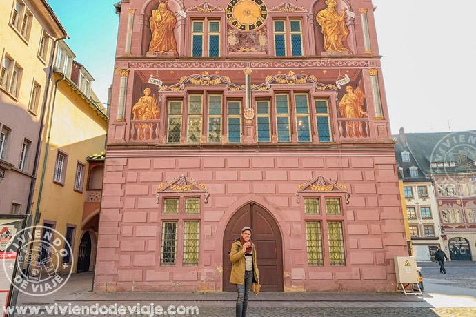 Antiguo ayuntamiento de Mulhouse, visita Alsacia