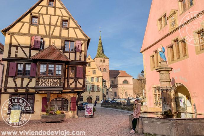 Turckheim, ruta por Alsacia