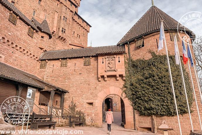 Castillo de Haut-koenigsbourg, un imprescindible que ver en Alsacia