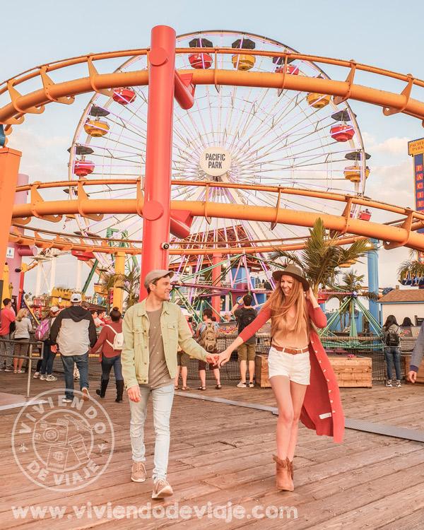 Santa Monica, California. Parada imprescindible en todo viaje por la Costa Oeste