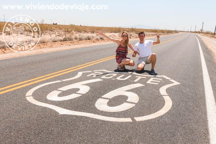 Ruta 66 en la Costa Oeste de Estados Unidos
