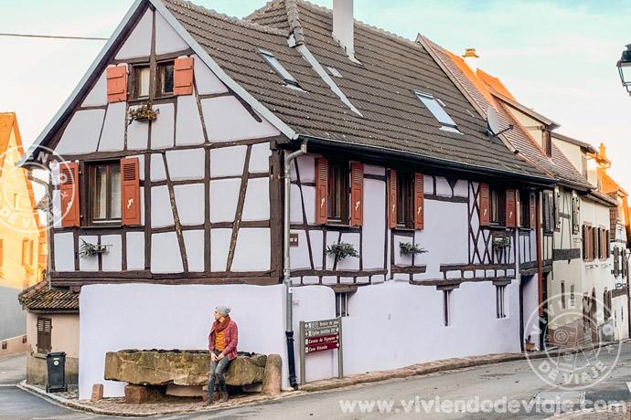 Hunawihr, ruta por Alsacia