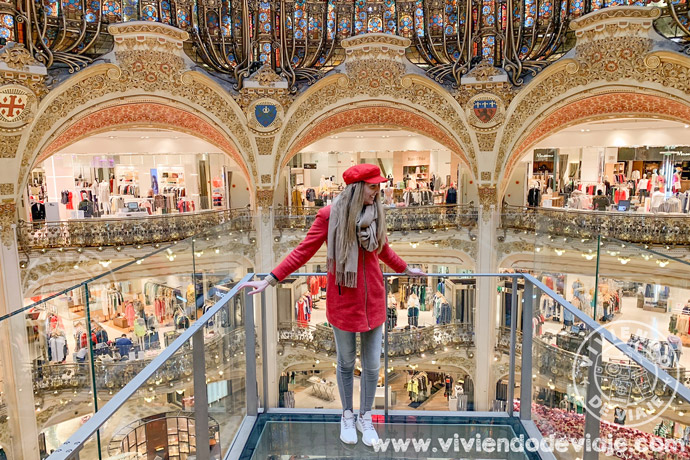 Galerías Lafayette en París, lugares que visitar