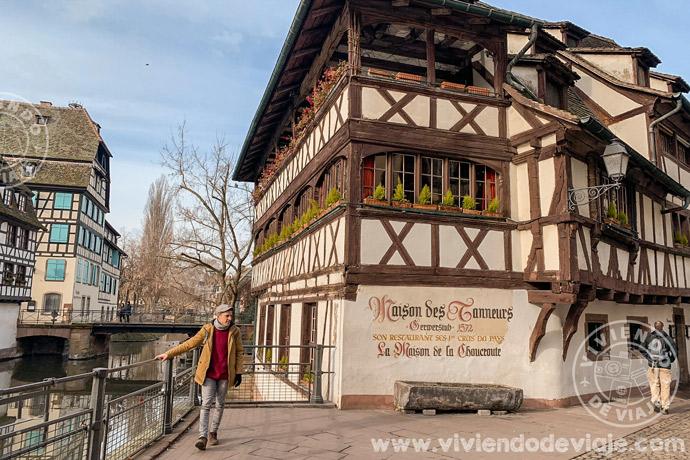 Maison des Tanneurs en Estrasburgo