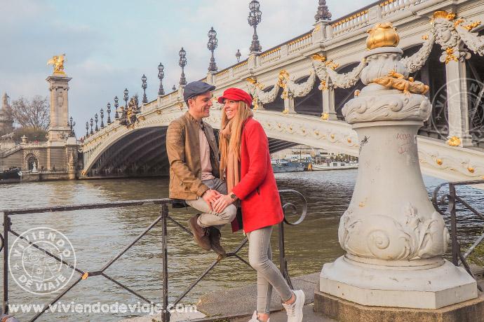 Puente Alejandro III, París
