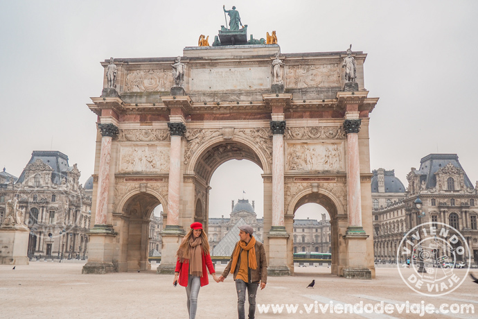 Visitar el museo Louvre, una de las cosas que hacer en París