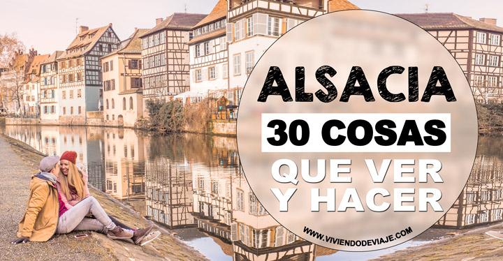 Que ver y hacer en Alsacia