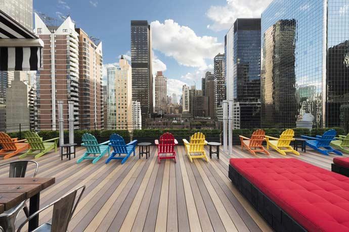 Pod 51, un alojamiento económico en Nueva York