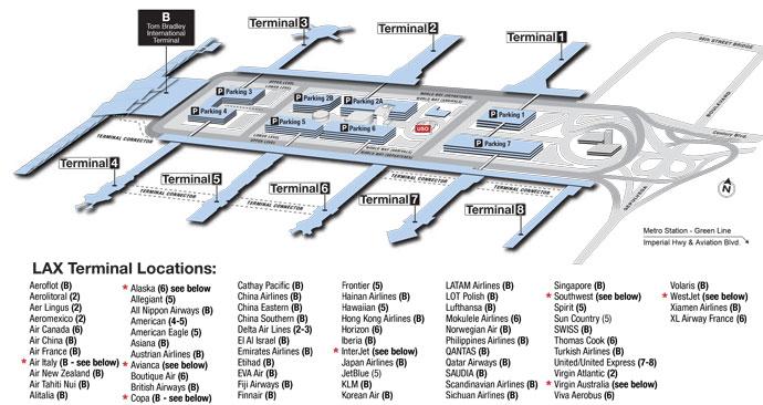 Cómo ir del aeropuerto de Los Angeles hasta el centro, Santa Monica y Hollywood