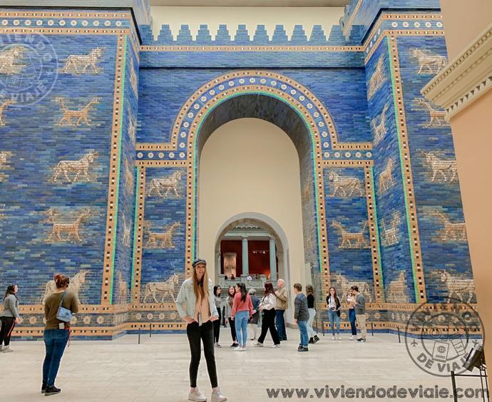 La Puerta de Ishtar en el museo del Pérgamo