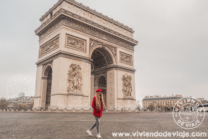 París en 3 días, Arco del Triunfo