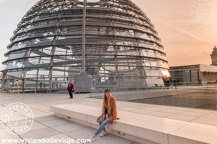 Cúpula de Parlamento de Berlin