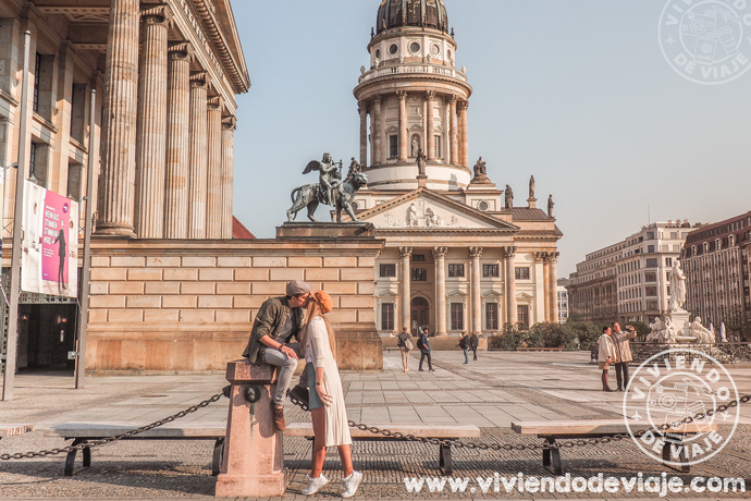 Que visitar en Berlín, Plaza de Gendarmenmarkt
