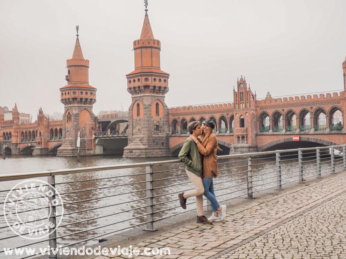 Puente de Oberbaum, el más bonito que ver en Berlín