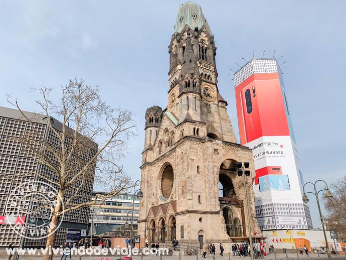 Iglesia Memorial Kaiser Wilhelm, Berlín