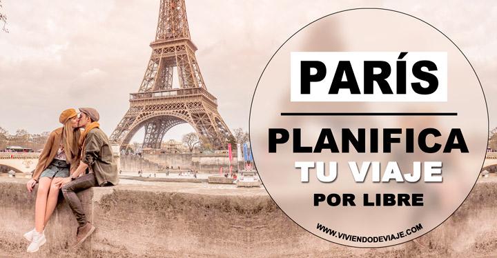 Viaje a París por libre, preparativos